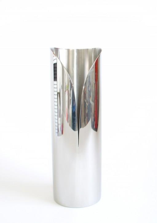 Vase Arum, inox poli miroir, 2008.