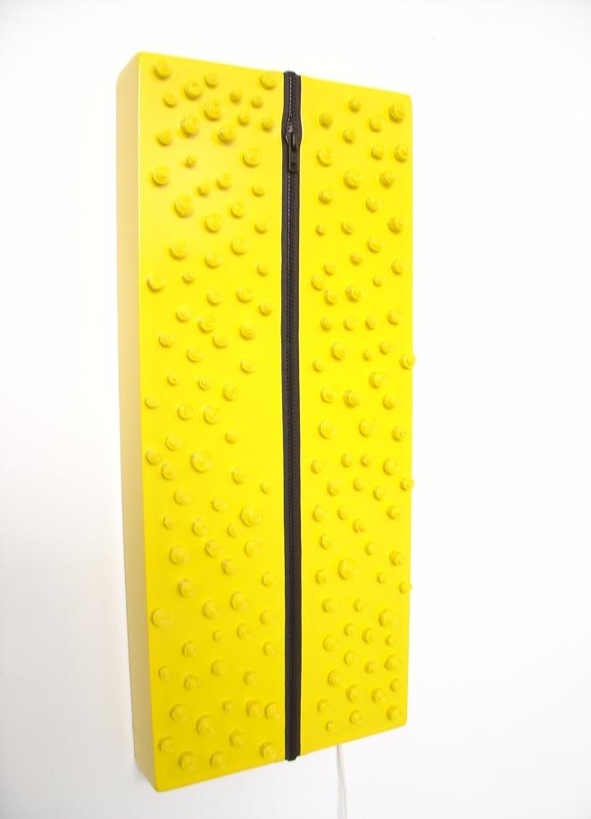 p'tits poids, vinyle jaune.