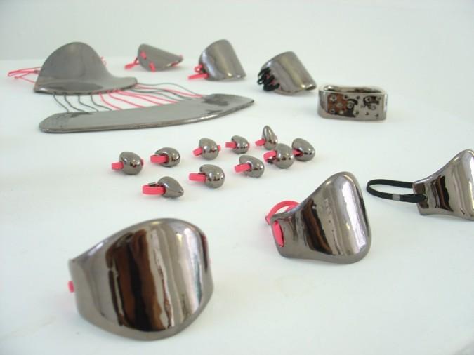 bijoux 1K, céramique,2009.