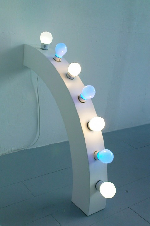 Star light, poutre d'angle, 2009